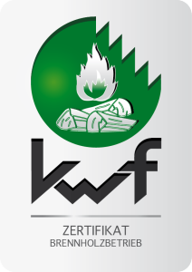 KWF-Zertifizierter Brennholzbetrieb