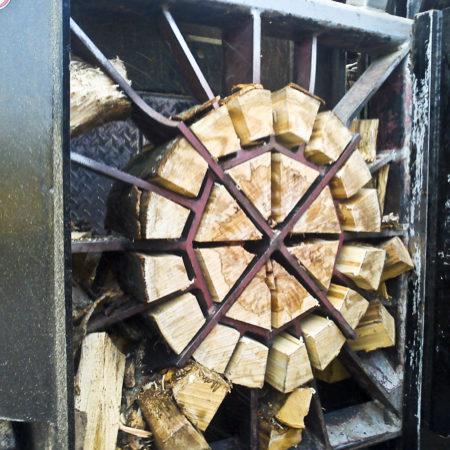 Spaltholz herstellen