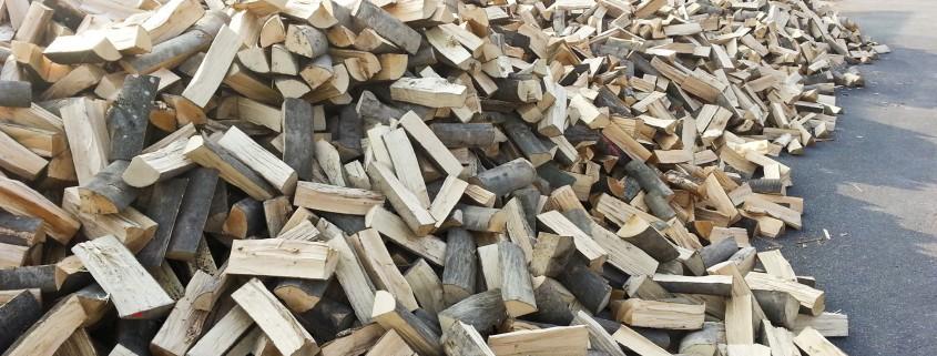 Ein Haufen Holz