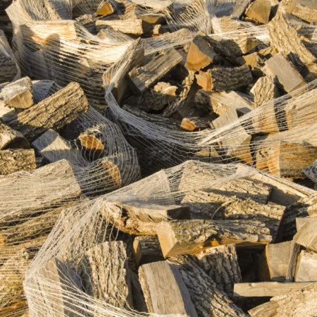Holztüten von oben